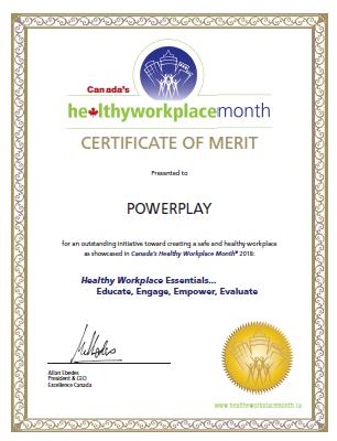 POWERPLAY award
